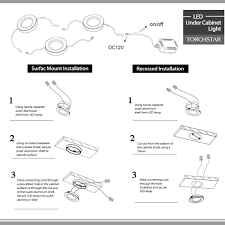 installing cabinet lighting. LED Under Cabinet Light Instruction Lightbox Moreview Installing Lighting