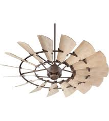 outdoor ceiling fans. Quorum 196015-86 Windmill 60 Inch Oiled Bronze With Weathered Oak Blades Outdoor Ceiling Fan Fans