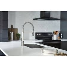 Touch kitchen faucets Sensate Touchless Moen Align Motionsense Wave Pulldown Kitchen Faucet 5923ewsrs Spot Resist Stainless Overstockcom Buy Touchtouchless Kitchen Faucets Online At Overstockcom Our