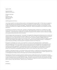 Academic Cover Letter Samples University Application University