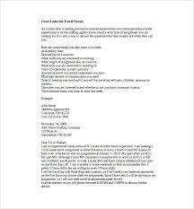 Nursing Cover Letter Template Free Nursing Cover Letter Template 8 Free Word Pdf Documents