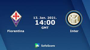 Fiorentina Inter live uitslagen - SofaScore