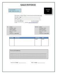 Sales Invoice Template Invoice Invoice Template Invoice