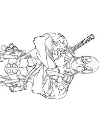 Small Picture Dead Pool Coloring Pages Miakenasnet