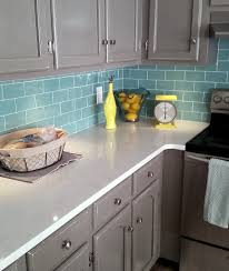 Kitchen Backsplash Glass Tile Blue Kitchen Backsplash Glass Tile