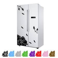 creative elegance furniture. one set magnolia wall sticker refrigerator creative elegant kitchen home decor elegance furniture i