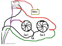 suggestions wiring aftermarket fans ford mustang forums heres my drawing