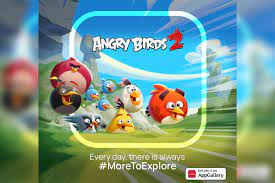 Angry Birds 2 is now available on Huawei's AppGallery