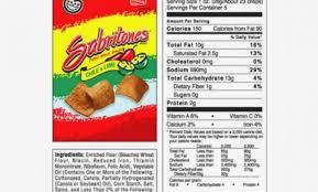 nutrition facts crunchy flaminu hot oz bag walmartrhwalmart