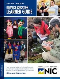 Distance Education In Fashion Designing Nic 2016 2017 Distance Education Learner Guide By North