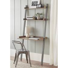 ladder desk ikea. Bookshelf, Terrific Ikea Leaning Shelf Bookshelves Ikea  Grey Leaning Shelf With Plant Lamp And Chairs
