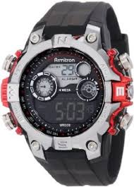 amazon com armitron sport men s 40 8251red digital watch watches armitron sport men s 40 8251red digital watch