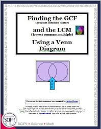 What Circles In A Venn Diagram Do Crossword Clue Finding The Gcf And Lcm For Fractions And Algebra Using A