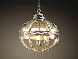chandelier restoration hardware crystal halo chandeliers orb large 41