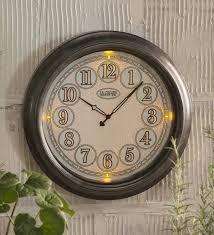 18 indoor outdoor lighted wall clock