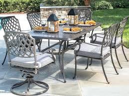 meridian 6 piece patio dining set sling dining set a alfresco outdoor 7 piece patio cushions