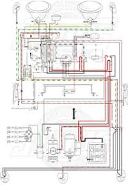 vintage vw wiring diagrams 1971 vw beetle turn signal wiring diagram at Vw Beetle Wiring Diagram 1971