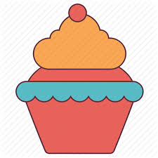Birthday Cake Cup Cupcake Ice Cream Muffins Icon
