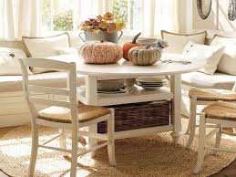 Image of: Breakfast Nook Furniture with Storage