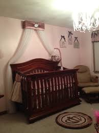 Silver And Pink Bedroom Crib Canopy Bed Crown Jojo Teesters Princess Mauve Pink Brown