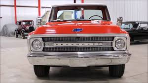 1972 Chevy C10 orange white - YouTube