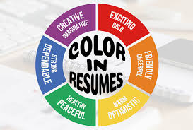 Using Color In A Resume Help Building Resume Which Resume Colors To Use Resumeperk Com
