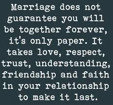 No marriage can survive when one spouse is accused, called names ...