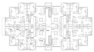 12 Unit Apartment Building Plans