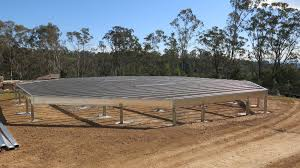 Grand Designs Steel Frame House Boxspan Steel Floor Frame Owner Built Octagonal Granny Flat