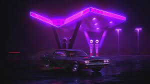 Neon Car Live Wallpaper - WallpaperWaifu