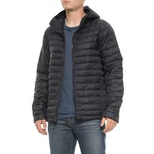 32 degrees hooded packable cloud down jacket insulated for men in black