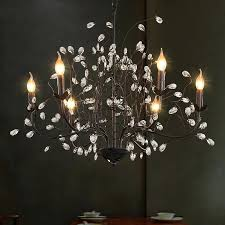 white tree branches chandeliers modern suspension hanging