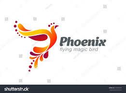 Fairy Logo Design Magic Fairy Bird Abstract Logo Design Stock Vector Royalty