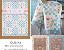 Tilda Fabric Patchwork Quilting Patterns by AltogetherPatchwork & Tilda Cabbage Rose, Cabbage Rose Quilt Kit, Tilda Quilt Kit, Cabbage Rose  Fabric Adamdwight.com