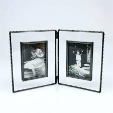 double 8x10 picture frame double picture frame brilliant 8 x silver hinged metal double frame with double 8x10 picture frame
