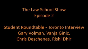 the law school show episode 2 student round table