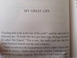 The First Paragraph Of Rik Mayalls Autobiography Is