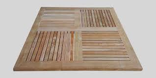teak wood table top square