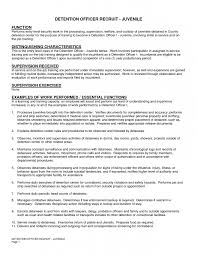 Create Correctional Officer Resume Examples Entry Level Description For  Graduate Or Senior Level 9 Correctional Officer ...