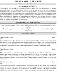 Legal Resume Templates Cool Top Legal Resume Templates Samples