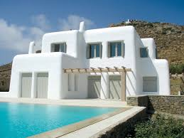I don't know if these are cob, but incorporating Greek architecture might  just