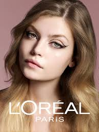 beauty caign for the danish market for l oréal paris flash lash wings shot with national makeup artist anne staunsager