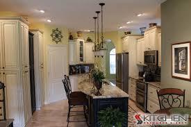 shabby chic kitchen lighting. shabby chic kitchen dual finish cabinets traditional lighting