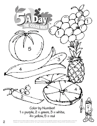 Small Picture Beautiful Fruits And Veggies Coloring Pages Images Coloring Page