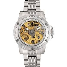 invicta men s skeleton dial stainless steel watch shipping invicta men s skeleton dial stainless steel watch