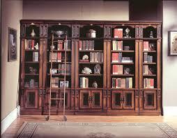 home library shelf bookcase with gl doors wall image ladder bookshelf design simple furniture89 design