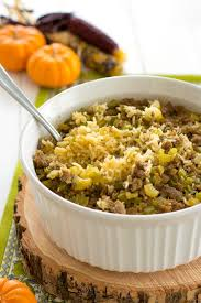 try this easy rice dressing recipe baked with the traditional flavors of bread stuffing great