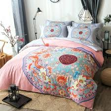 king size duvet cover oriental classical fl double happiness bedding set queen king size duvet covers