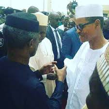 Image result for Nigerian President and his lookalike