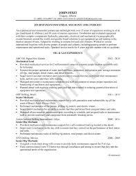 Industrial Maintenance Mechanic Sample Resume Sample Resume For Industrial Maintenance Technician Best Of 89